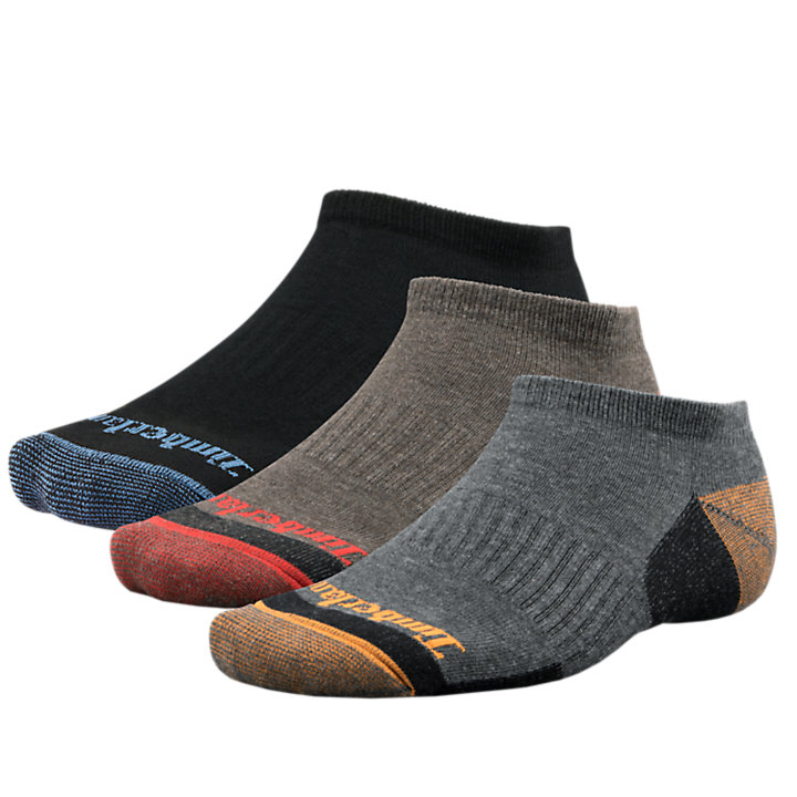 Men's Casual No-Show Socks (3-Pack)-