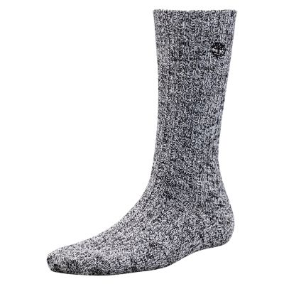 Women's Marled Cotton Crew Socks (2-Pack)