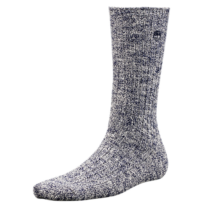Women's Marled Cotton Crew Socks (2-Pack)-