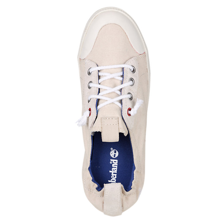 Women's Newport Bay 4-Eye Canvas Oxford Shoes-
