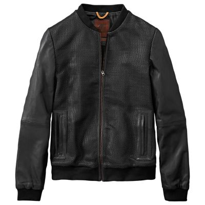 Women's Mount Ellen Woven Leather Jacket