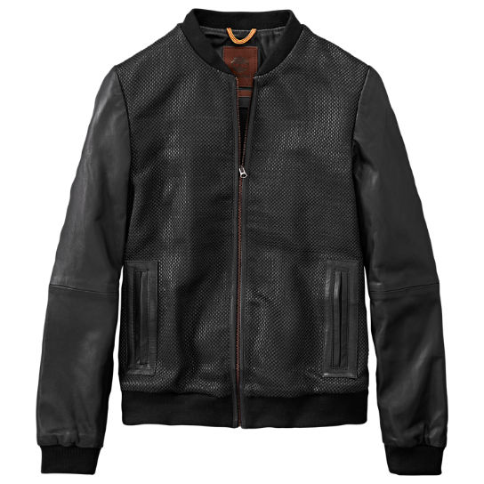 Women's Mount Ellen Woven Leather Jacket