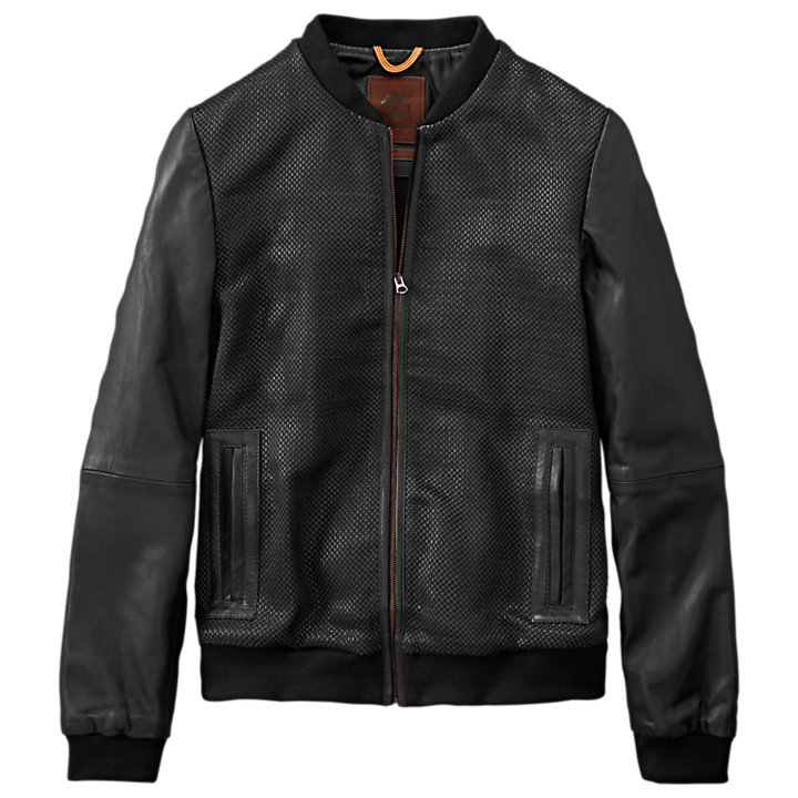 Women's Mount Ellen Woven Leather Jacket-