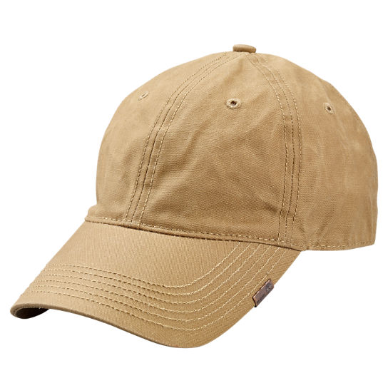 Waxed Canvas Baseball Cap Timberland Us Store