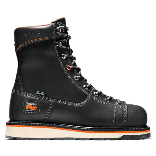 "Men's Timberland PRO® Gridworks 8"" Alloy Toe Work Boots"