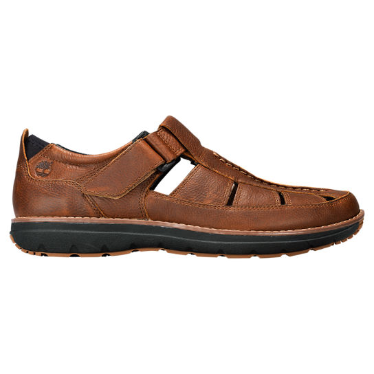 Men 39 s barrett park fisherman sandals timberland us store for Mens fishing sandals
