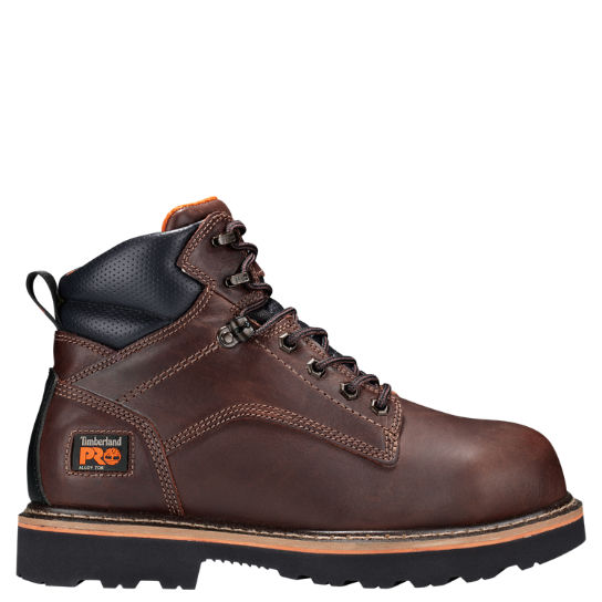 "Men's Timberland PRO® Ascender 6"""" Alloy Toe Work Boots"