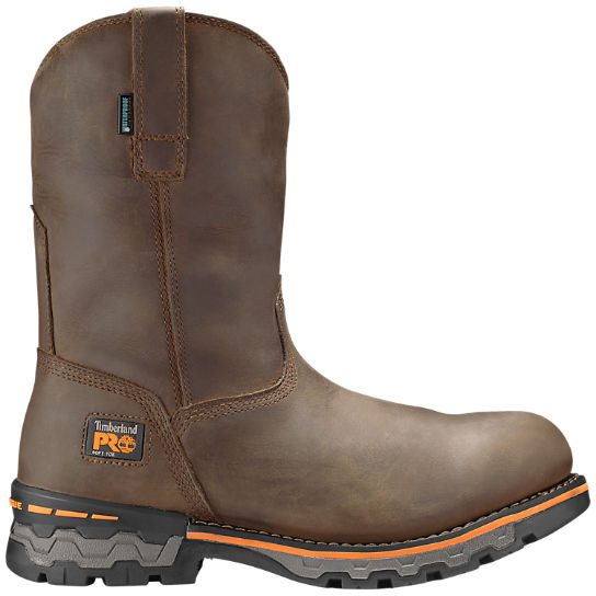 Men's Timberland PRO® Ag Boss Soft Toe Pull-On Work Boots