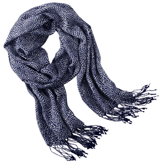Rice Pattern Lightweight Scarf