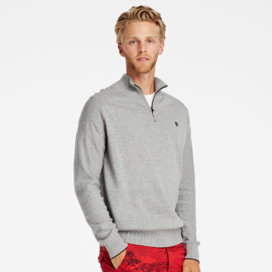 Men's Williams River Quarter-Zip Sweater