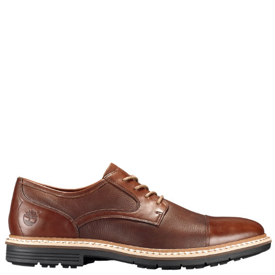 Men's Naples Trail Textured Leather Oxford Shoes
