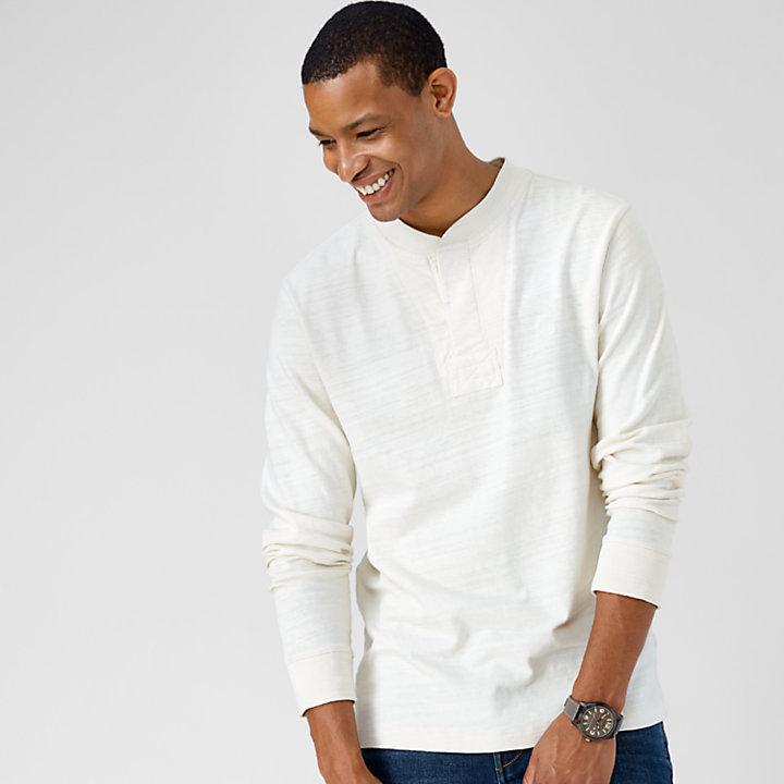 Men's Essential Slub Henley Shirt-