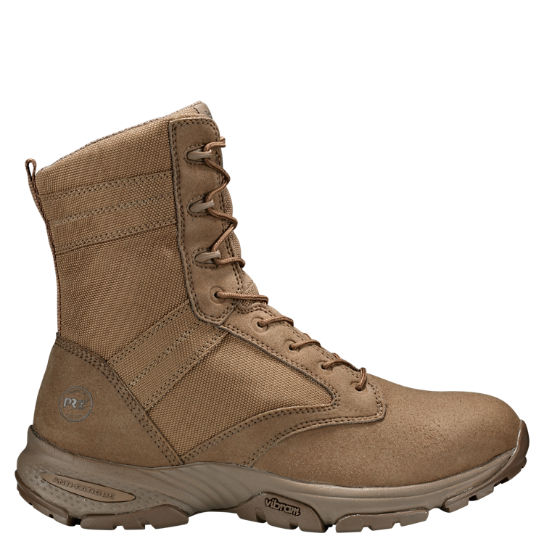"Men's Timberland PRO® Valor™ Tactical 8"" Soft Toe Suede Work Boots"