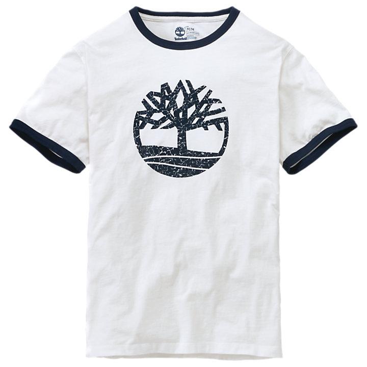 Men's Short Sleeve Tree Logo Ringer T-Shirt-