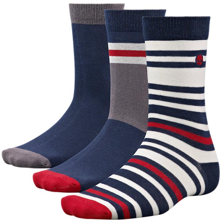 Men's Lightweight Crew Socks (3-Pack)-
