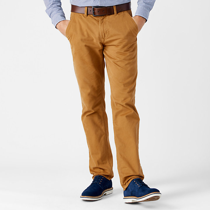 Men's Squam Lake Straight Fit Twill Chino Pant-
