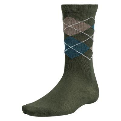 Men's Classic Argyle Crew Socks