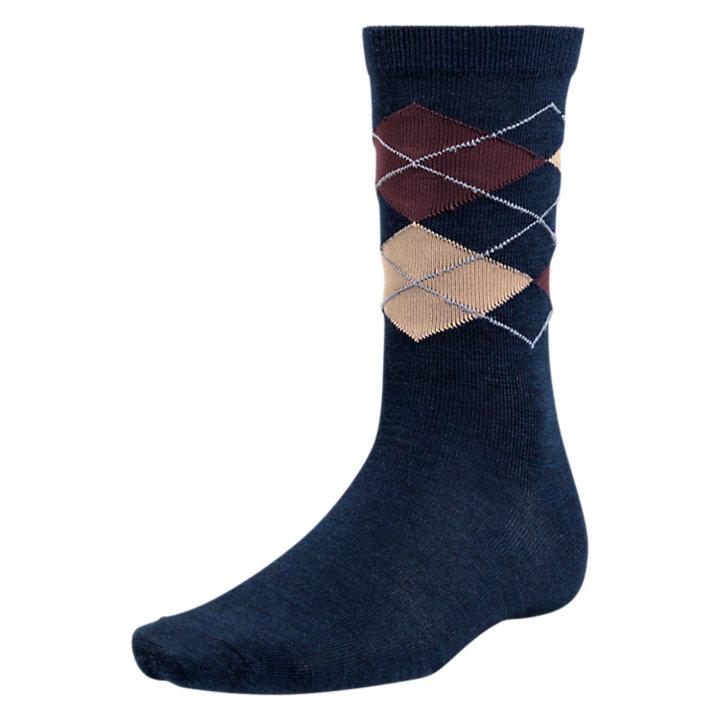 Men's Classic Argyle Crew Socks-