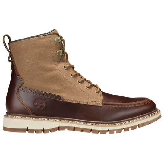 Men's Britton Hill Mixed-Media Moc Toe Boots