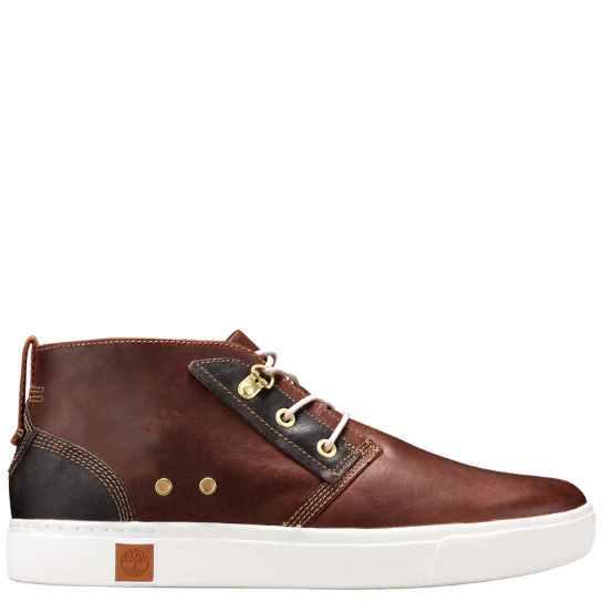 Men's Amherst Leather Chukka Shoes