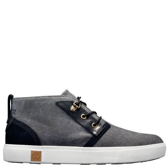 Men's Amherst Canvas Chukka Shoes
