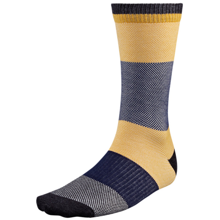 Men's Color Block Crew Socks-