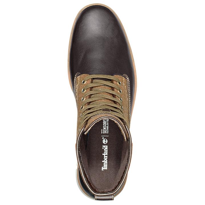 Men's Bradstreet Mixed-Media Chukka Boots-