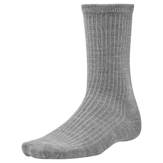 Men's Premium Wool Ribbed Crew Socks
