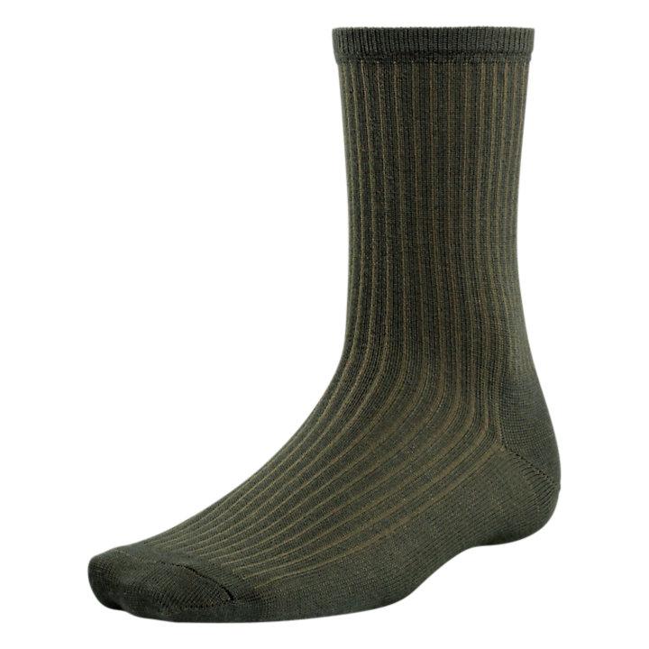 Men's Premium Wool Ribbed Crew Socks-