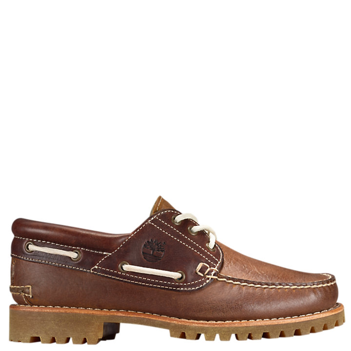 Men's Timberland Authentics 3-Eye Classic Lug Shoes-