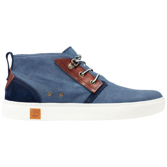Men's Amherst Canvas Chukka Boots