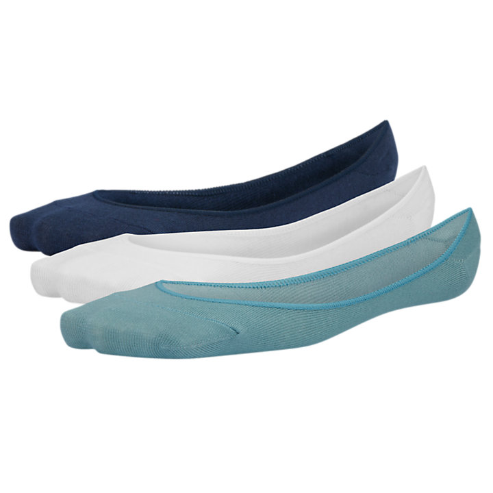 Women's Cooling Boat Shoe Liner Socks (3-Pack)-
