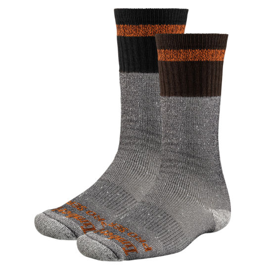 Men's Timberland PRO® Striped Crew Socks (2-Pack)