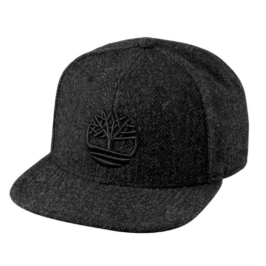 Six-Panel Herringbone Cap