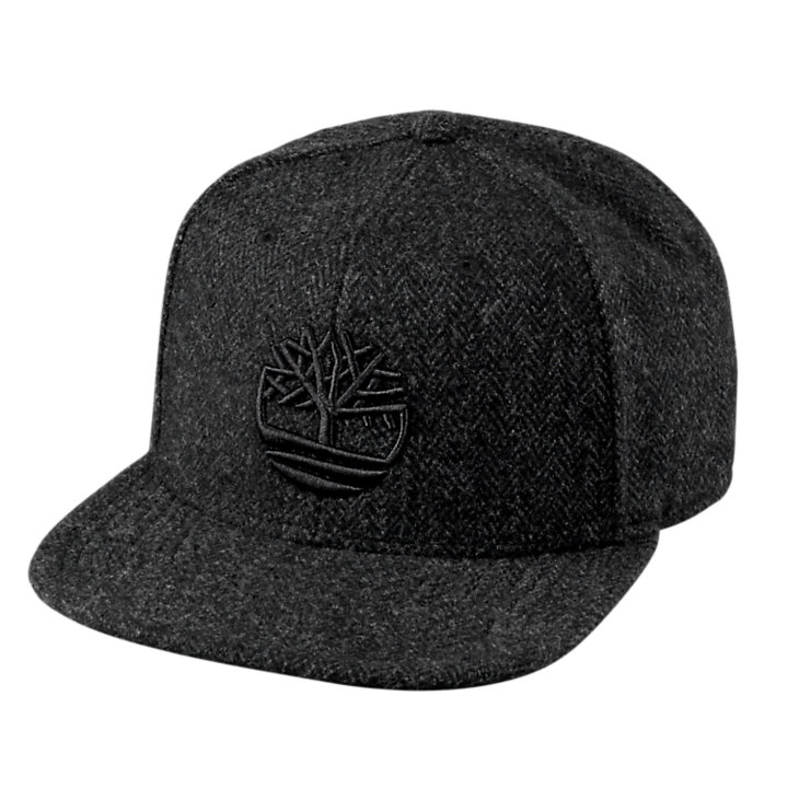 Six-Panel Herringbone Cap-
