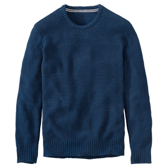 Men's Bean River Crew Neck Sweater