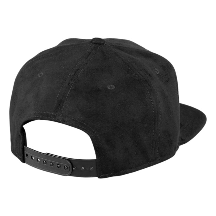 Six-Panel Faux Suede Cap-