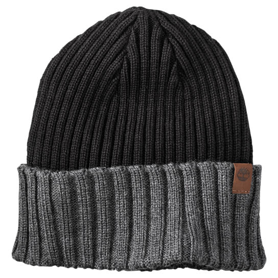 Color Block Cuffed Beanie