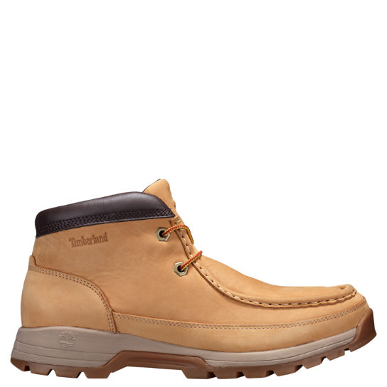 Men's Stratmore Moc Toe Boots