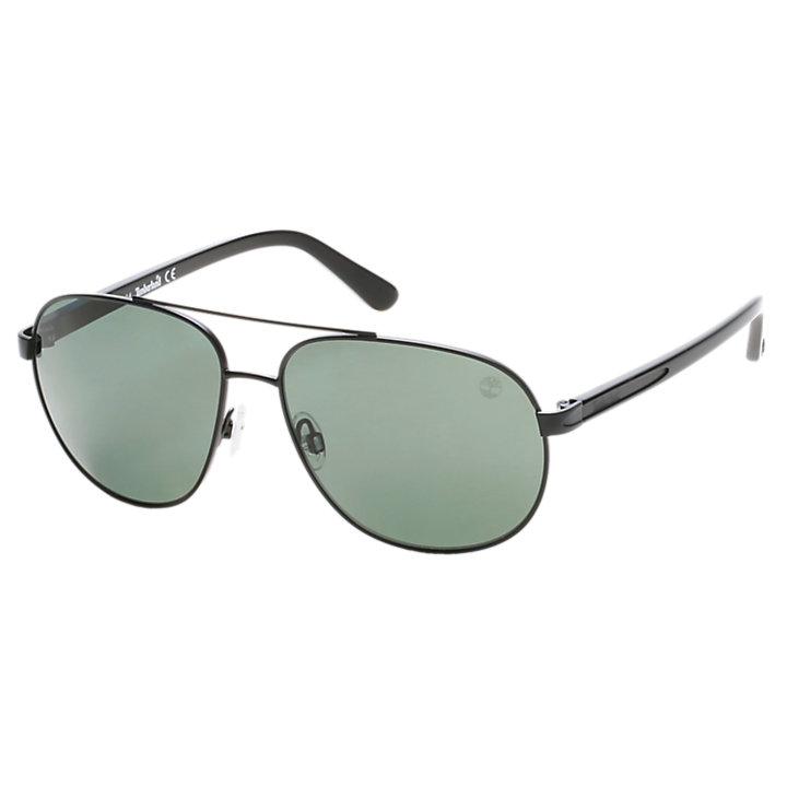 Polarized Metal Aviator Sunglasses-