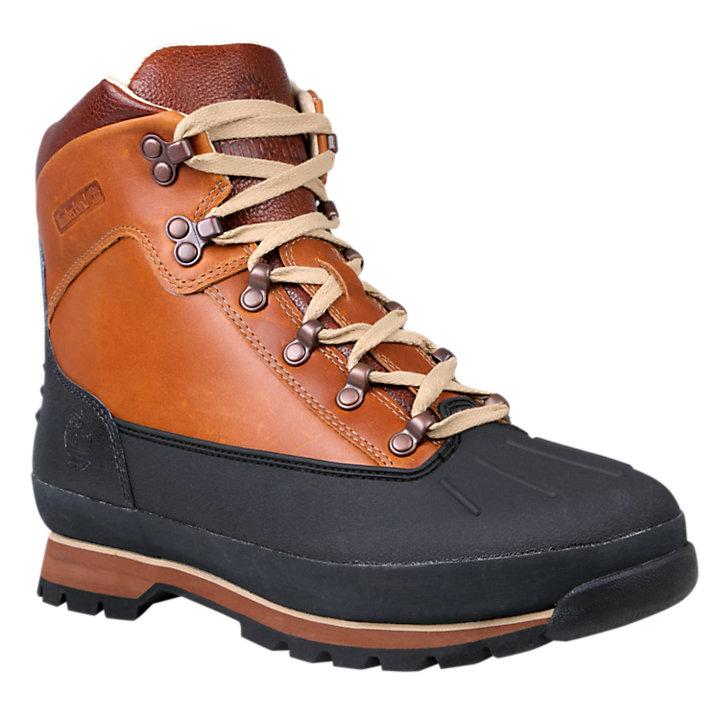 Men's Shell-Toe Waterproof Euro Hiker Boots-