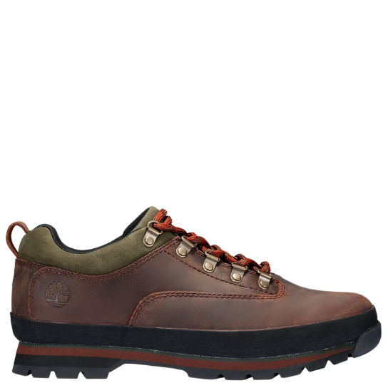 Men's Leather Euro Hiker Shoes