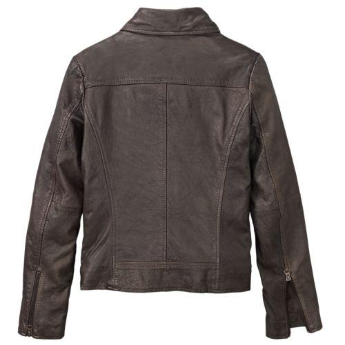 Women's Belknap Leather Biker Jacket-