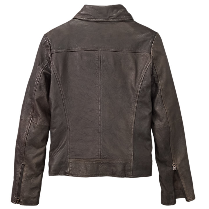 Women's Belknap Leather Biker Jacket-