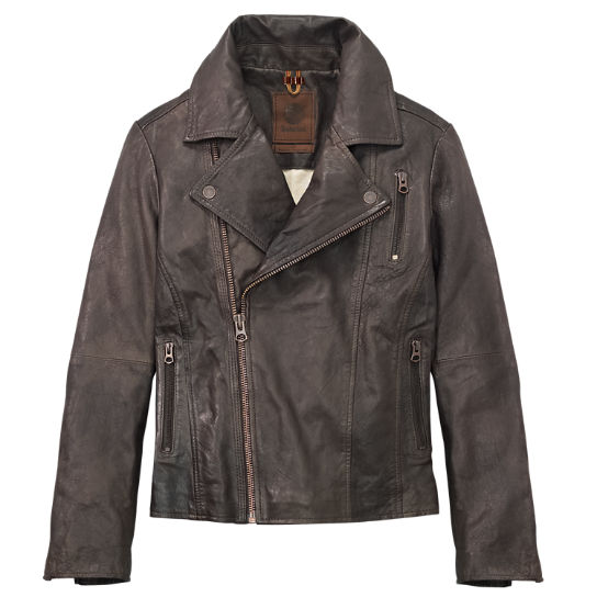 Women's Belknap Leather Biker Jacket