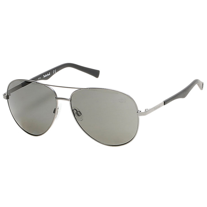 Polarized Metal Frame Aviator Sunglasses-