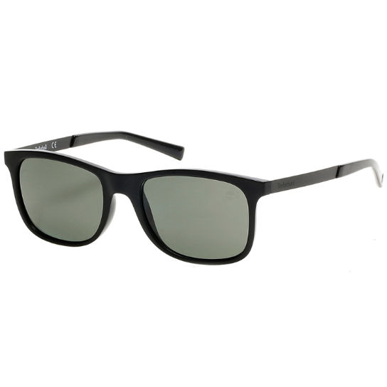 Polarized Plastic Square Frame Sunglasses