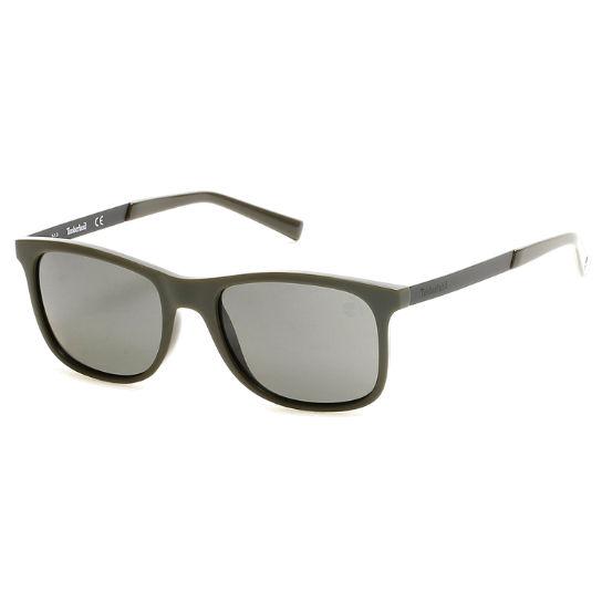 7285fbe011f9 Polarized Plastic Square Frame Sunglasses