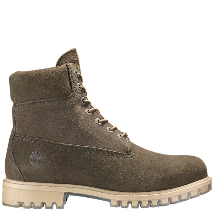 Men's 6 Inch Premium Suede Waterproof Boots