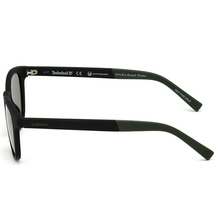 Polarized Plastic Round Frame Sunglasses-